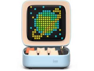 FOX 【納期未定】ブルートゥーススピーカー Divoom - DITOO ブルー 90100058124 Bluetooth対応