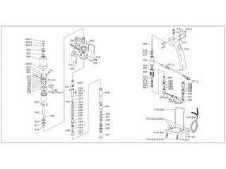 TRUSCO/トラスコ中山 FTR65G用 ベース FTR-022