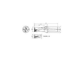 KYOCERA/京セラ ドリル用ホルダ S25-DRX220M-2-07