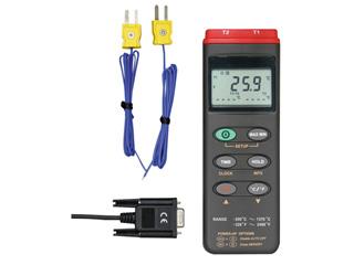 MotherTool/マザーツール MT-306 デジタルデータロガ温度計 (2点式)