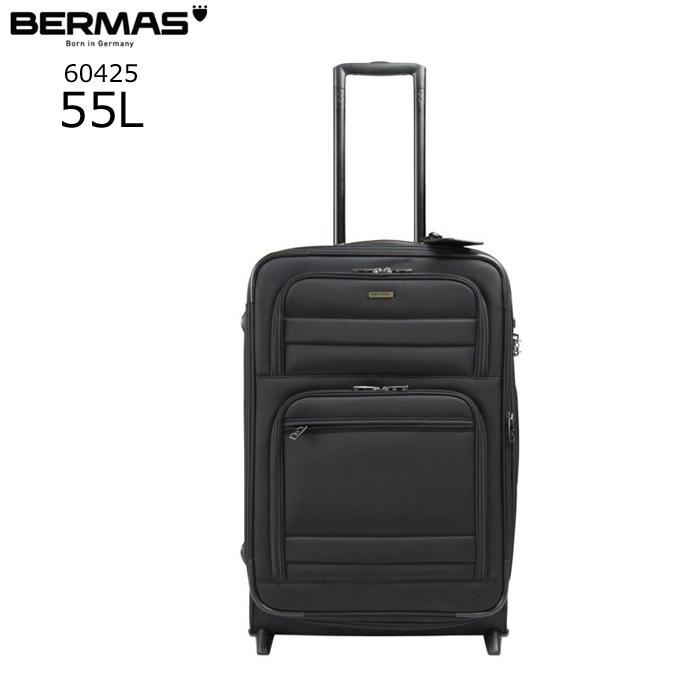 BERMAS/バーマス 60425 FUNCTION GEAR 縦型スーツケース(ブラック)【55L】 ビジネス キャリー スーツケース