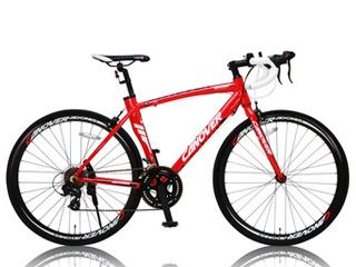 CANOVER/カノーバー CAR-012 ADONIS(アドニス) ロードバイク 【700c】 (レッド) メーカー直送品のため【単品購入のみ】【クレジット決済のみ】 【北海道・沖縄・離島不可】【日時指定不可】商品になります。
