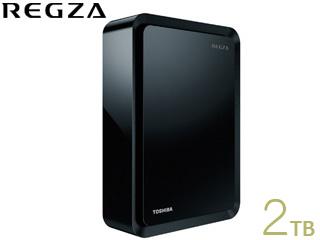 TOSHIBA/東芝 THD-200V2 レグザ純正USBハードディスク 2TB