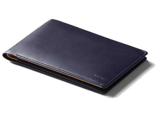 Bellroy/ベルロイ 本革■財布【ネイビー】RFIDカード機能■トラベルウォレット/Travel Wallet (WTRB) ※天然のレザーを使用しておりますので、多少のシワなどがある場合がございます。予めご了承ください。 革 レザー ミニマム ウォレット 財布 ミニ財布 コンパ