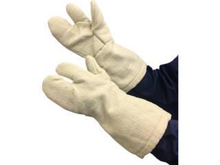 TRUSCO/トラスコ中山 生体溶解性セラミック耐熱手袋 3本指タイプ TCAT3-A