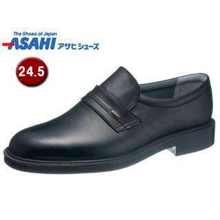 【nightsale】 ASAHI/アサヒシューズ AM33251  通勤快足 TK33-25 ビジネスシューズ 【24.5cm・4E】 (ブラック)