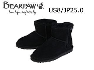 Bear paw/ベアパウ 619LW ムートンブーツ Demi (Black) 【US8/JP25.0】【日本正規品】