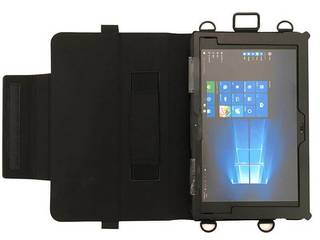 MSソリューションズ 富士通 Q508/Sシリーズ用多機能型PUレザーケース MS-Q508L01BK
