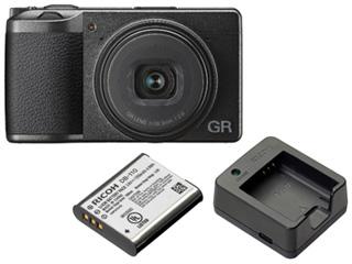 RICOH/リコー GR III+DB-110 バッテリー+BJ-11 充電器セット【gr3set】