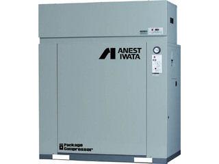 【組立・輸送等の都合で納期に1週間以上かかります】 ANEST IWATA/アネスト岩田コンプレッサ 【代引不可】パッケージコンプレッサ D付 5.5KW 60Hz CLP55EF-8.5DM6