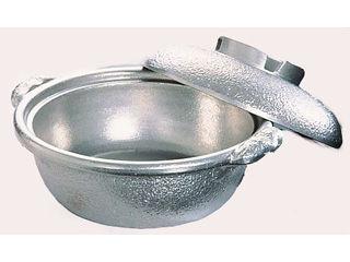 アルミ土鍋白仕上風33cm