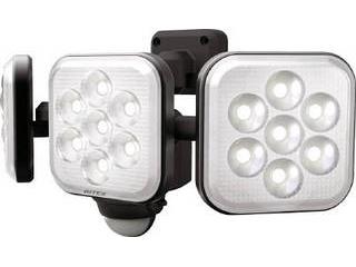 musashi/ムサシ ★★★8W×3灯 フリーアーム式LEDセンサーライト LED-AC3024