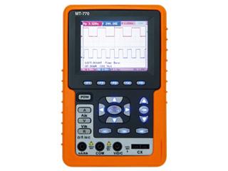MotherTool/マザーツール MT-770 フルカラーハンディタイプ2現象オシロ+4000カウントDMM
