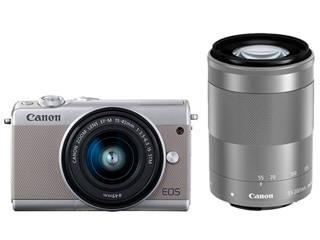 CANON/キヤノン EOS M100・ダブルズームキット(グレー) ミラ-レスカメラ