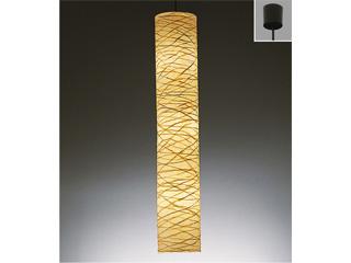 ENDO/遠藤照明 ERP7121N 和風ペンダントライト 因州和紙(楮巻き)【電球色】ランプ付