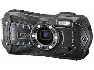 【お買い得セットもあります!】 RICOH/リコー RICOH WG-60(ブラック) 防水コンパクトデジタルカメラ FlashAir対応/マクロ照明/アウトドアモニター/CALSモード搭載