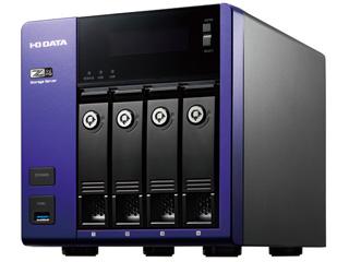 I・O DATA アイ・オー・データ Windows Storage Server 2016 Standard Edition/Intel Celeron搭載 4ドライブ法人向けNAS 8TB HDL-Z4WP8D