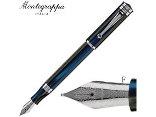 Montegrappa/モンテグラッパ 万年筆■ドゥカーレ ムラノ【マーレ】■スチールペン先 【F/細字】(ISDUR2IF)