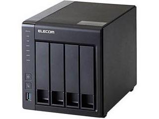 ELECOM エレコム LinuxNAS/4Bay/12TB/NetStor5シリーズ NSB-5A12T4BL