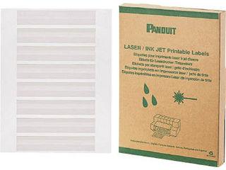 【海外限定】 レーザープリンタ用回転ラベル (2500本入) Panduit/パンドウイットコーポレーション R100X075X1J:エムスタ 白-DIY・工具
