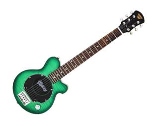 【納期にお時間がかかります】 Pignose/ピグノーズ PGG-200FM SGR(See-through Green) 【Electric Guitar 】 専用ケース付き! 【指板材をローズウッドからテックウッドへ変更している場合がございます】