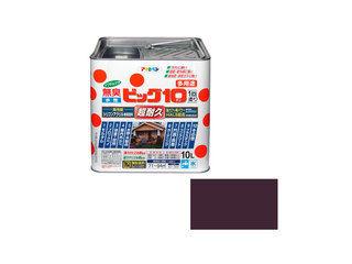 ASAHIPEN/アサヒペン 水性ビッグ10多用途 10L 242ブラウン