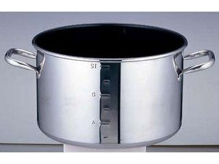 パワーデンジ SAパワー・デンジ アルファ 半寸胴鍋/42cm(蓋無)目盛付