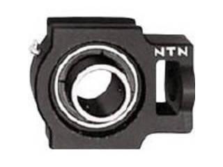 NTN 【代引不可】G ベアリングユニット(円筒穴形止めねじ式)内輪径90mm全長312mm全高255mm UCT318D1
