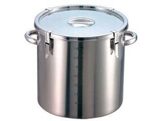 EBM 【代引不可】EBM 18-8 パッキン寸胴鍋(目盛付)42cm 手付