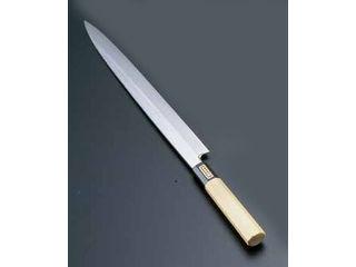 Total Kitchen Goods SA佐文 本焼鏡面仕上 柳刃 木製サヤ/27cm