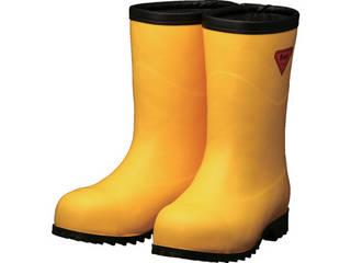 SHIBATA/シバタ工業 防寒安全長靴セーフティベアー#1011白熊(イエロー)フード無し 22.0cm AC101-22.0