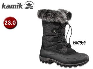 kamik/カミック 1600398-190 モーメンタムW's 【6/23.0cm】 (190ブラック) 【ウィンター・スノーブーツ】【雪】【防寒】