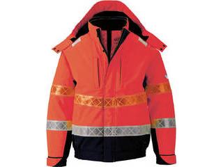 XEBEC/ジーベック 802 高視認防水防寒ブルゾン Lサイズ オレンジ 802-82-L