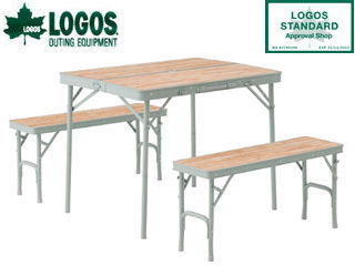 LOGOS/ロゴス ★73183013 LOGOS Life ベンチテーブルセット4 PKSS06
