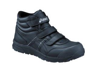 asics/アシックス ウィンジョブCP302 ブラックXブラック 26.5cm FCP302.9090-26.5