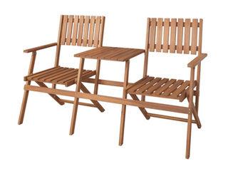 東谷/あづまや【メーカー直送代引不可】 テーブル付きフォールディングベンチ NX-931