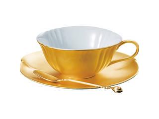 箔一 無垢 紅茶碗皿  A161-03019