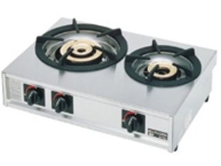 ※こちらは13A(都市ガス)専用になります。 ガステーブルコンロ親子二口コンロ/M-212C 13A(都市ガス)