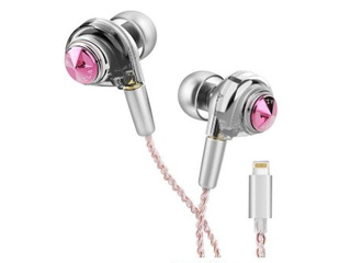 AZLA/アズラ AZL-AZLA-ORTA-PNK-LI/4.4(ピンク) ORTA Lightning Queenly Pink with UPG Cable 4.4 【特別限定パッケージ版 数量限定】