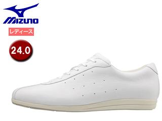 mizuno/ミズノ B1GF1734-01 ウエーブリム MONO ウォーキングシューズ レディース 【24.0cm】 (ホワイト)