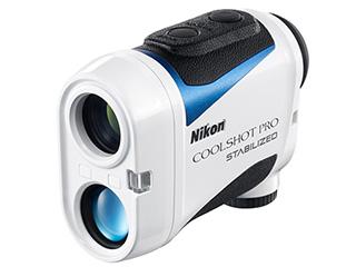 Nikon/ニコン COOLSHOT PRO STABILIZED ホワイト ゴルフ用レーザー距離計 LCSPRO 高低差対応モデル/ニコン最速測定約0.3秒