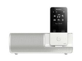 SONY/ソニー ウォークマン Sシリーズ (メモリータイプ) 16GB ホワイト スピーカー付属 NW-S315K/W