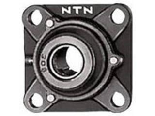 NTN 【代引不可】G ベアリングユニット(円筒穴形、止めねじ式)軸径90mm内輪径90mm全長280mm UCFS318D1