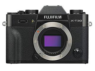 小型軽量ボディに最新のイメージセンサー 画像処理エンジンを搭載し 高速 静音連写性能で決定的瞬間を逃さない FUJIFILM 無料 フジフイルム ブラック ボディ X-T30 X-T30-B 送料無料 激安 お買い得 キ゛フト ミラーレスデジタルカメラ F
