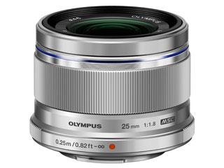 OLYMPUS/オリンパス 【自分の見た目に近いレンズ】 M.ZUIKO DIGITAL 25mm F1.8 (シルバー)