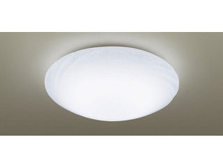 Panasonic/パナソニック LGBZ2543 LEDシーリングライト 乳白つや消し・模様入り・一部透明【~10畳】【調光調色】【天井直付型】