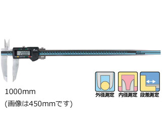 SHINWA/シンワ測定 デジタルノギス 大文字 1000mm ホールド機能付 19988