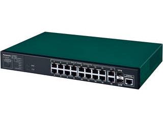 パナソニックESネットワークス PN26164B5 GA-MS16T ギガスイッチイングハブ 18ポート+ SFP2スロット 5年先出しセンドバック保守バンドル 納期にお時間がかかる場合があります