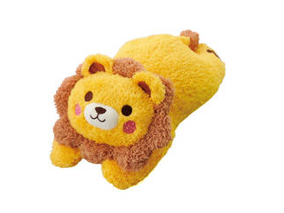 ボンビアルコン わんこだっこまくら ライオン