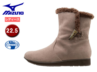 mizuno/ミズノ B1GH1571-08 SELECT550 ブレスサーモショートブーツ 【22.5】 (グレージュ)